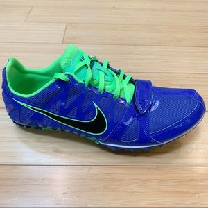 NIKE Zoom Rival track spikes, men's 9.